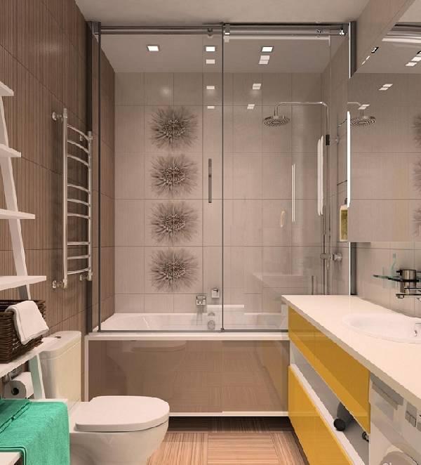 туалет совмещенный с ванной дизайн фото, фото 13