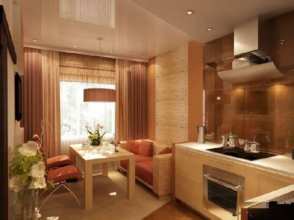 дизайн кухни с балконом 9 кв.м., фото 22