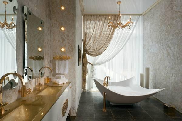 люстра в ванную комнату в классическом стиле, фото 17