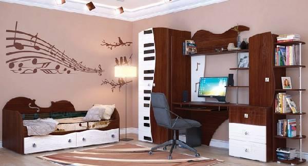 мебель для детской комнаты для мальчика школьника, фото 10