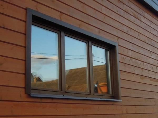 Наличники на окна в деревянном доме, фото 12