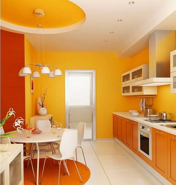 отделка стен на кухне, фото 16