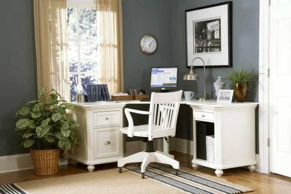 дизайн кабинета в квартире в современном стиле, фото 19