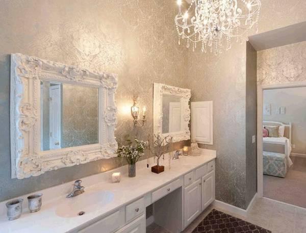 люстра в ванную комнату в классическом стиле, фото 18