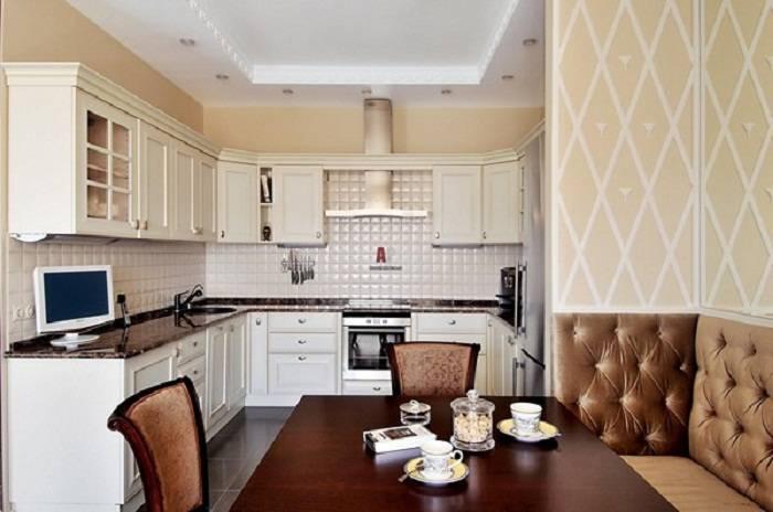 отделка стен на кухне, фото 1
