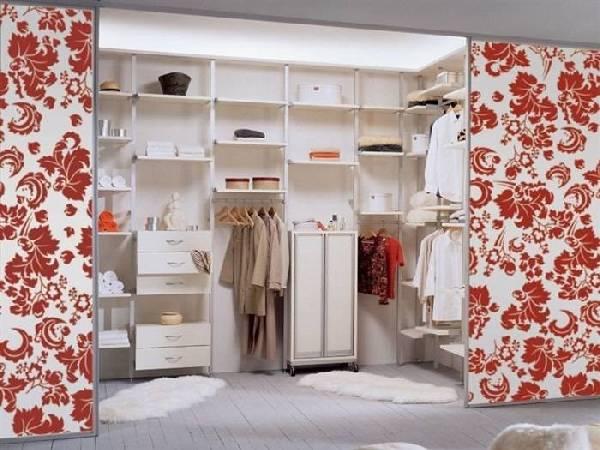 Планировка гардеробной с размерами, фото 3
