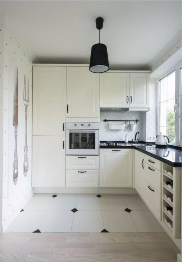идеи дизайна маленькой кухни, фото 6