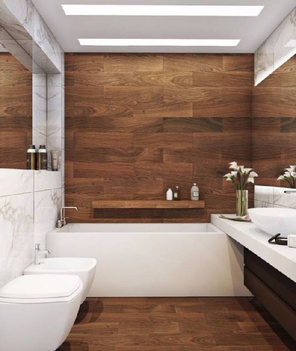 дизайн ванной совмещенной с туалетом, фото 2