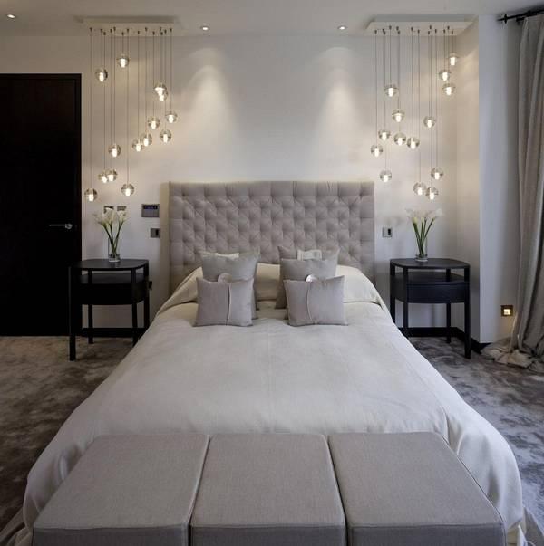 люстры в маленькую спальню фото в интерьере, фото 14