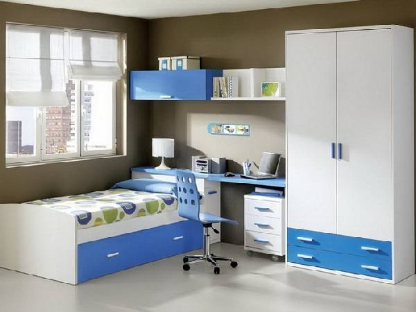 Мебель для детской комнаты для мальчика: примеры на 30 фото