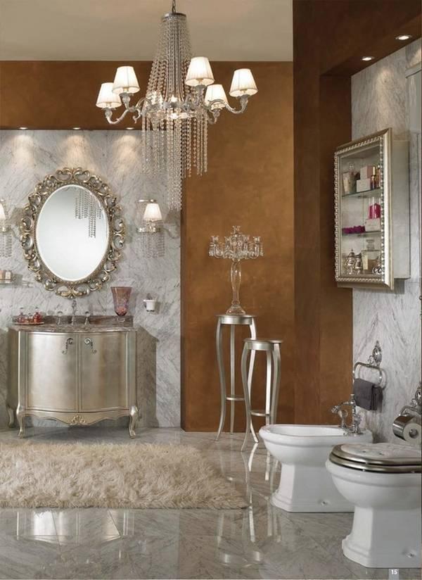 люстра в ванную комнату в классическом стиле, фото 19