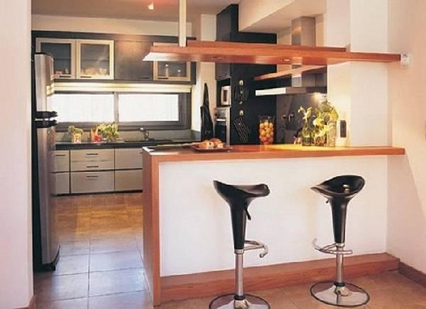 маленькая кухня с балконом, фото 14