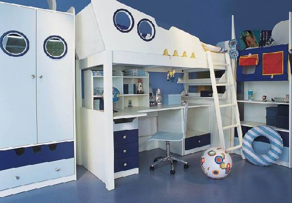 мебель для детской комнаты для мальчика, фото 15