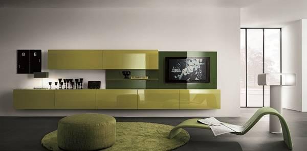 модульная мебель для гостиной с угловым шкафом, фото 21