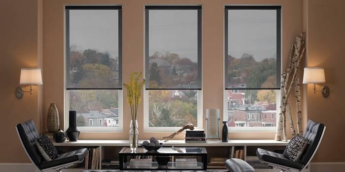 жалюзи на окна рулонные фото, фото 17
