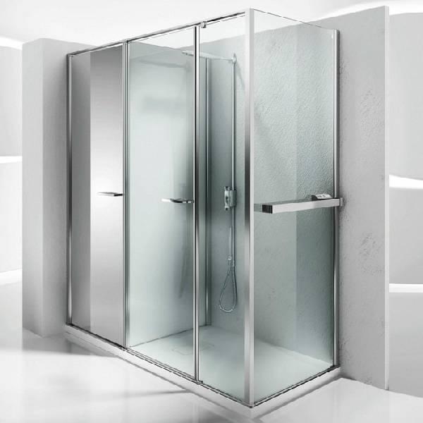 душевые двери раздвижные, фото 14