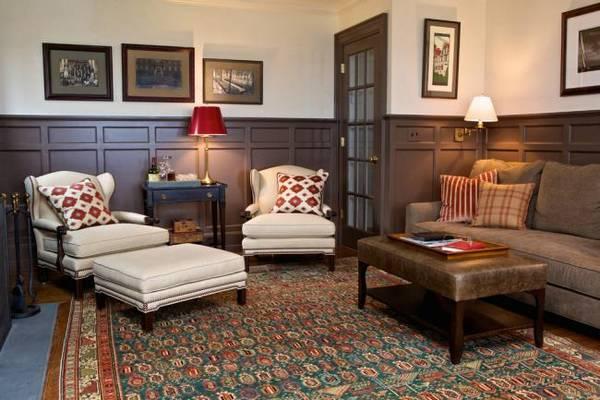 дизайн комнаты кабинета в квартире, фото 22