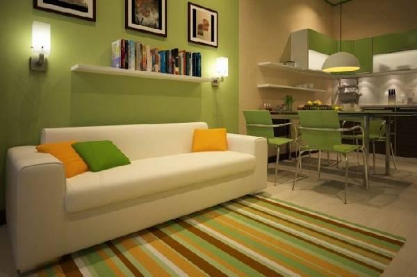Прямой диван на кухню со спальным местом, фото 18