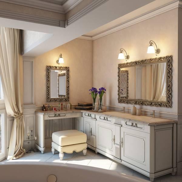 бра для ванной комнаты в классическом стиле, фото 22