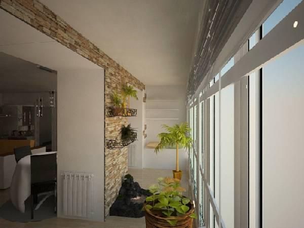 дизайн кухни с выходом на балкон, фото 23