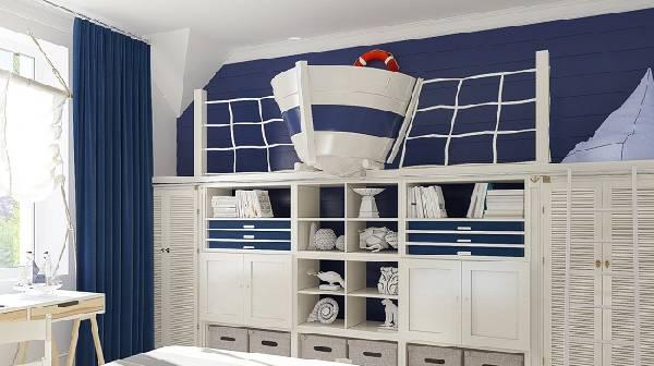 цвет мебели для детской комнаты мальчика, фото 17