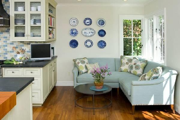 Уголок диван на кухню со спальным местом, фото 9