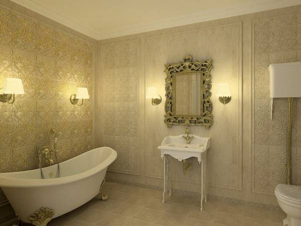 бра для ванной комнаты в классическом стиле, фото 23