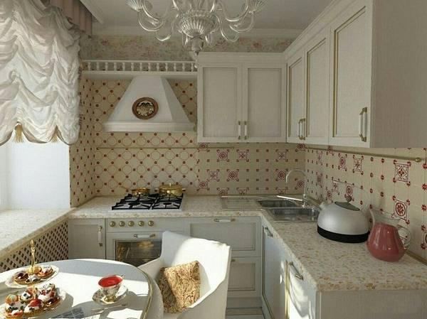 идеи дизайна маленькой кухни, фото 16