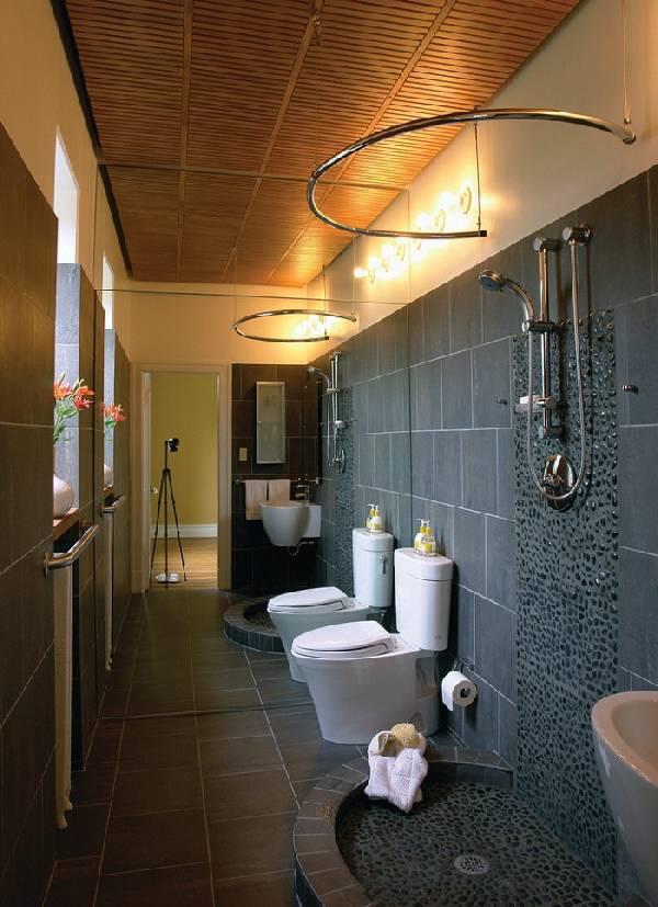 дизайн ванных комнат, совмещенных с туалетом фото, фото 19