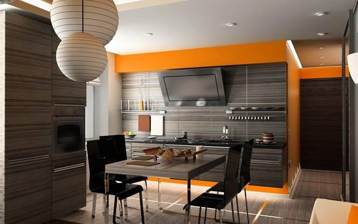 отделка стен на кухне панелями, фото 24