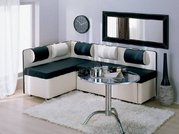 Угловой диван на кухню, фото 10