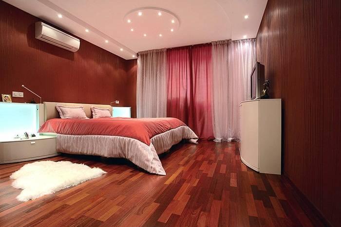 дизайн красной спальни, фото 9