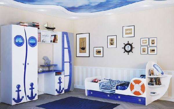 мебель для детской комнаты для мальчика, фото 19