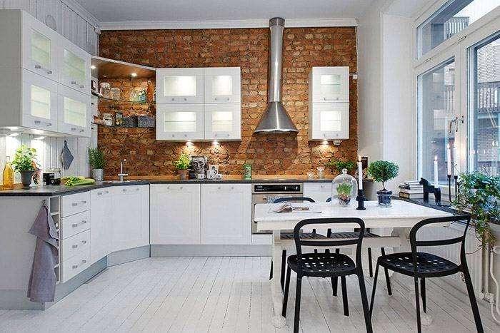 отделка стены на кухне панелями мдф фото, фото 25