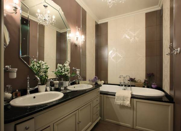 бра для ванной комнаты в классическом стиле, фото 25