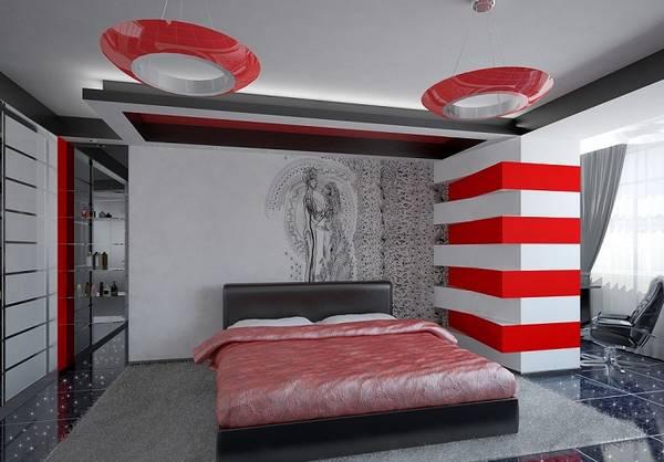 люстры в маленькую спальню фото в интерьере, фото 24