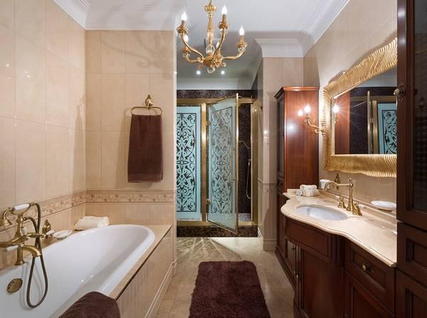 бра для ванной комнаты в классическом стиле, фото 26