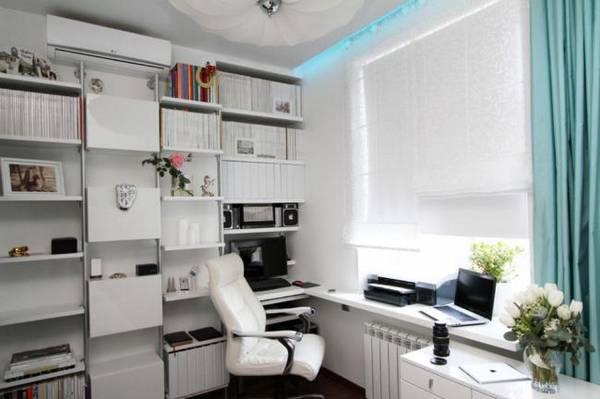 дизайн комнаты кабинета в квартире фото, фото 27