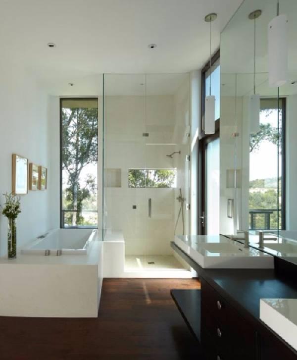 дизайн ванных комнат, совмещенных с туалетом фото, фото 28