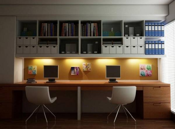 дизайн комнаты кабинета в квартире фото, фото 28