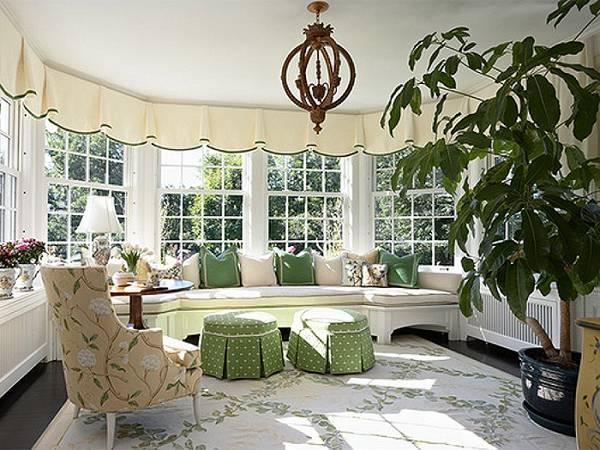 кухня гостиная с эркером дизайн, фото 29