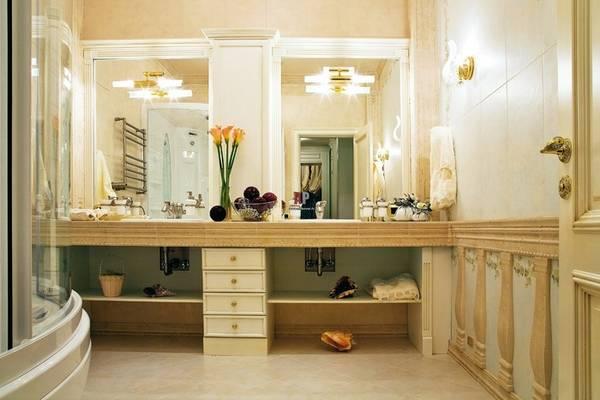 бра для ванной комнаты в классическом стиле, фото 28