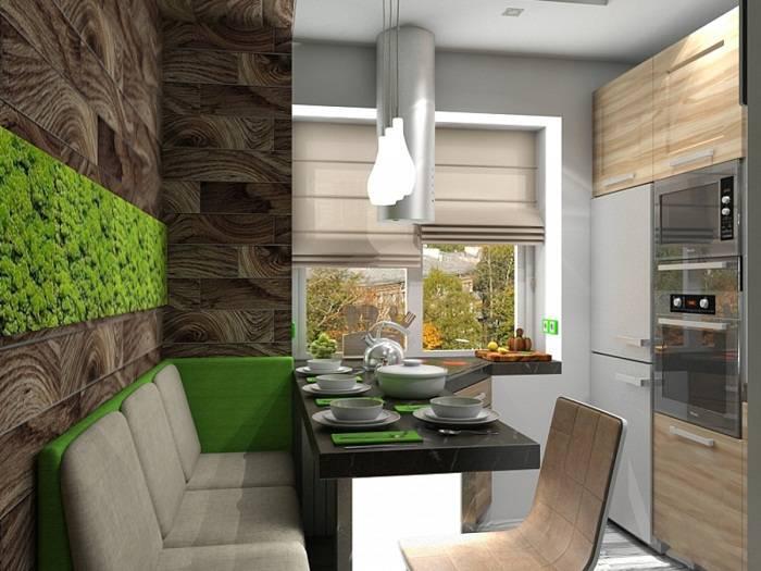 отделка стен на кухне плиткой, фото 29