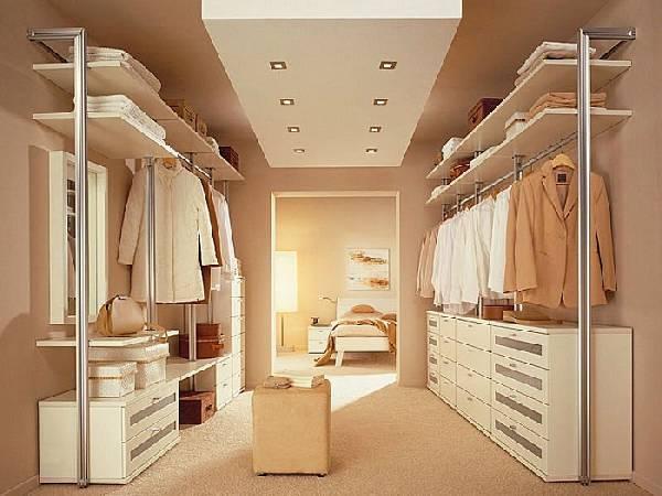 Планировка маленькой гардеробной, фото 26