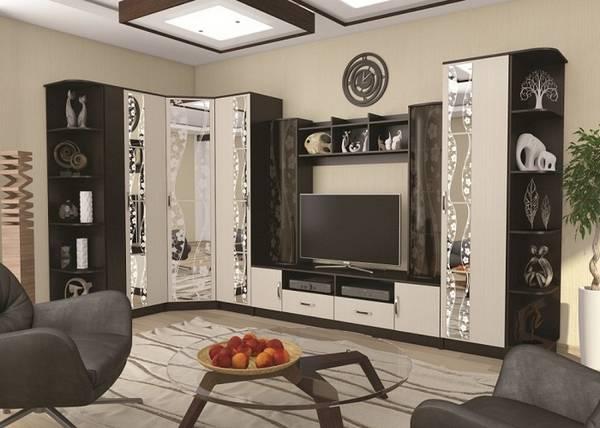 современная модульная мебель для гостиной, фото 29