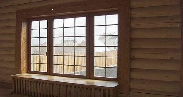 Деревянные наличники на окна внутри дома, фото 3