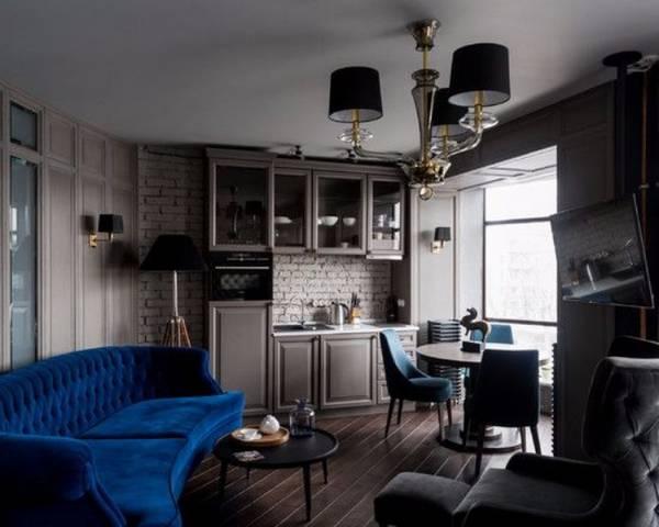 интерьер кухни с эркером фото, фото 3