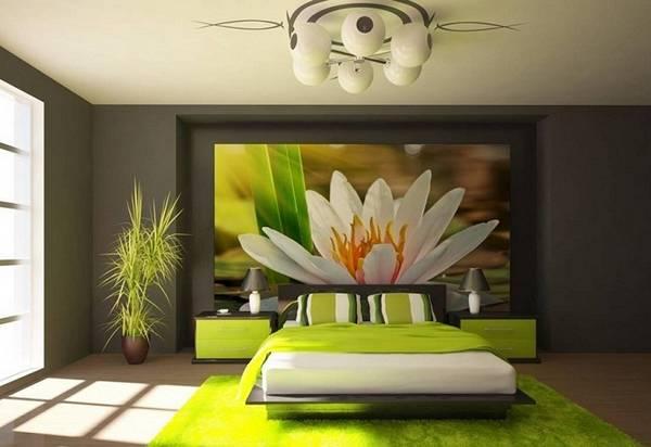 люстры в интерьере спальни, фото 21