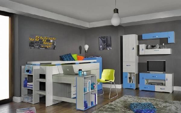 модульная мебель для детской комнаты для мальчика, фото 3