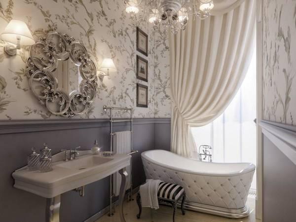бра для ванной комнаты в классическом стиле, фото 29